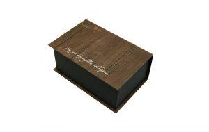 デザインボックス フォトブック S ウッドブラウン